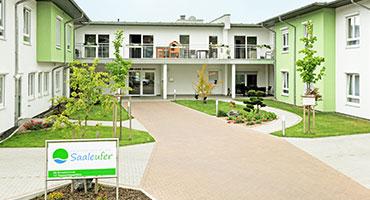Das Haus :<br>Seniorenheim am Saaleufer<br>